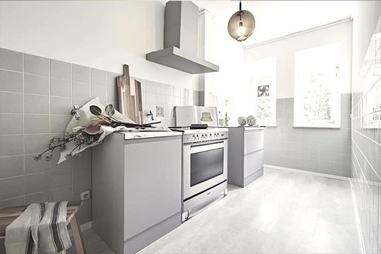 Tschangizian Home Staging with CUBIQZ 2-in-1 reversible kitchen