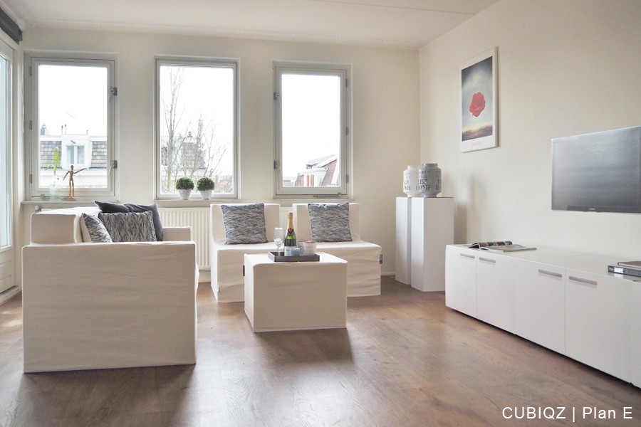 18. home Staging with CUBIQZ cardboard furniture