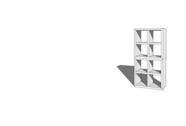 CUBIQZ cardboard EXPO furniture
