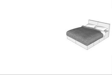 CUBIQZ cardboard bedroom furniture