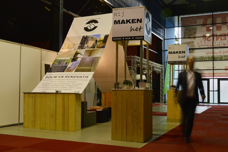 CUBIQZ cardboard furniture for EXPO