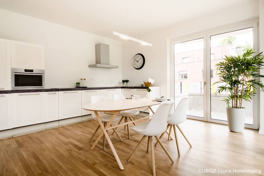 Home Staging with CUBIQZ cardboard kitchens