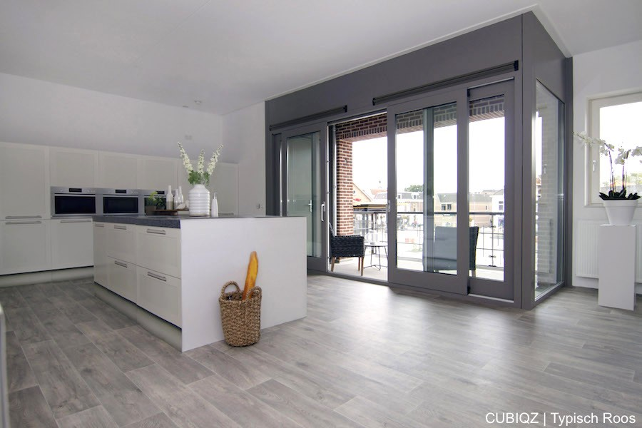 Home Staging with CUBIQZ cardboard island kitchen 5