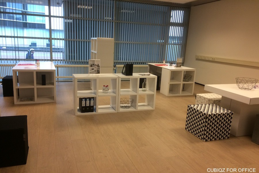 CUBIQZ cardboard furniture for office